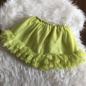 Gymboree Girls 3T Lime Green Tutu and Diaper Cover